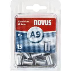 Hliníkové nýtovací matice Novus, 6 x 15 mm, 10 KS