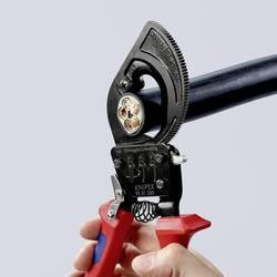 Štiepacie kliešte na káble s račňou Knipex 95 31 250, 250 mm