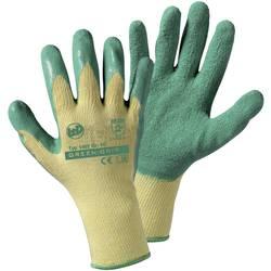 Zahradní rukavice L+D Green grip 1492SB, Rukavice s latexovou vrstvou, velikost rukavic: 8, M