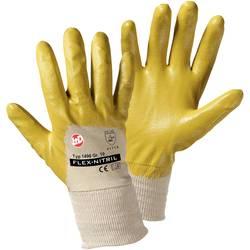 Pracovní rukavice L+D worky Flex Nitril 1496, Nitrilkaučuk s bavlnou, velikost rukavic: 9, L