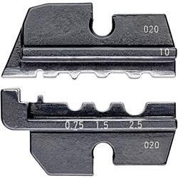 Krimpovací nástavec Knipex neizolované krimpovací kabelové koncovky , neizolované krimpovací spojky , neizolované dotykové spojky , 0.75 do 2.5 mm², Vhodné pro značku Knipex, 97 43 200, 97 43 E, 97 43 E AUS, 97 43 E UK, 97 43 E US 97 49 10