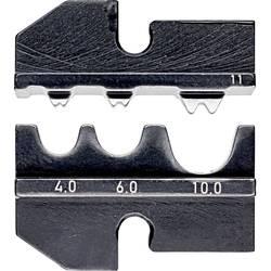 Krimpovací nástavec Knipex neizolované krimpovací kabelové koncovky , neizolované krimpovací spojky , neizolované dotykové spojky , neizolované lisované spojky , 4 do 10 mm², Vhodné pro značku Knipex, 97 43 200, 97 43 E, 97 43 E AUS, 97 43 E UK, 97 43 E U