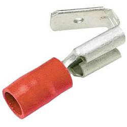 Faston zásuvka LAPP 63102010 s odbočkou, 6.3 mm x 0.8 mm, 180 °, částečná izolace, červená, 50 ks