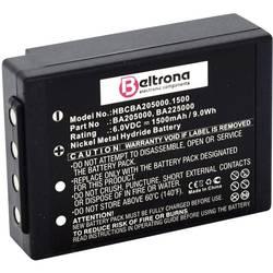 Akumulátor do ovladače Beltrona Náhrada za originální akumulátor BA205000, BA205030, BA206000, BA206030, BA225030, FuB05AA, FuB05XL, PM237745002 6 V 1500 mAh