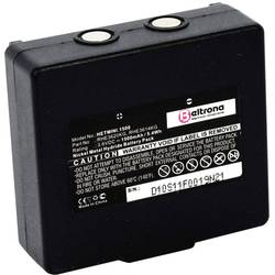 Akumulátor do ovladače Beltrona Náhrada za originální akumulátor 68300600, 68300900 3.6 V 1500 mAh