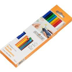 Lepiace tyčinky Steinel 006969 006969, Ø 7 mm, délka 150 mm, 16 ks, rôzne farby triedené