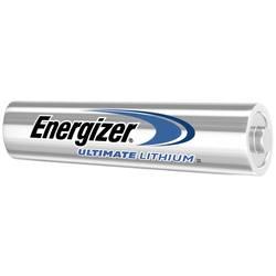 Mikrotužková baterie AAA lithiová Energizer Ultimate FR03, 1250 mAh, 1.5 V, 10 ks