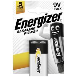 Baterie 9 V alkalicko-manganová Energizer Power 6LR61 9 V 1 ks