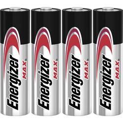 Tužková baterie AA alkalicko-manganová Energizer Max LR06, 1.5 V, 4 ks