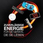 Max Energizer alkalická baterie AAA, sada 8 ks