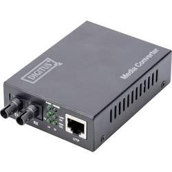 LAN, ST Duplex síťový prvek media converter 1 GBit/s Digitus DN-82110-1