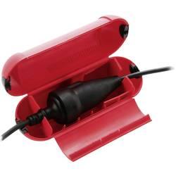 Kryt zásuvky Heitronic 45600, červená