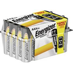 Mikrotužková baterie AAA alkalicko-manganová Energizer Power LR03, 1.5 V, 24 ks