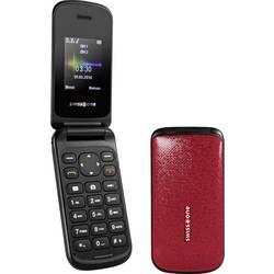 Swisstone SC 330 mobilní telefon - véčko červená