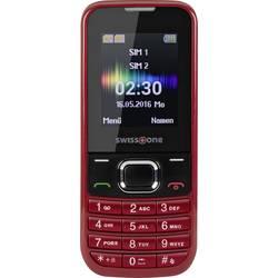 Swisstone SC 230 mobilní telefon Dual SIM červená