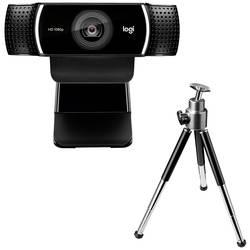 Full HD webkamera Logitech C922 Pro Stream, stojánek, upínací uchycení