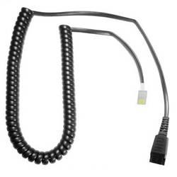 Kabel k telefonnímu headsetu AK-1 PS PLX-QD černá