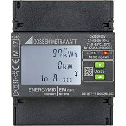 Třífázový elektroměr digitální Úředně schválený: Ano Gossen Metrawatt EM2289 S0