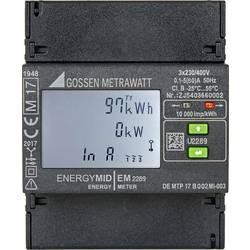 Třífázový elektroměr digitální Úředně schválený: Ano Gossen Metrawatt EM2289 Modbus RTU