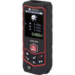 Laserový měřič vzdálenosti TOOLCRAFT LDM 60 R Multi TO-4985214, max. rozsah 60 m