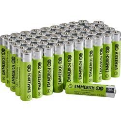 Mikrotužková baterie AAA alkalicko-manganová Emmerich Industrial LR03 1300 mAh 50 ks