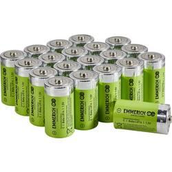 Baterie malé mono C alkalicko-manganová Emmerich Industrial LR15 7500 mAh 20 ks