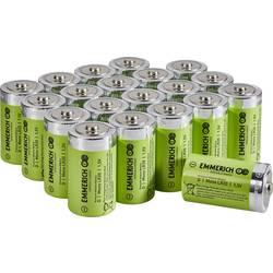 Baterie velké mono D alkalicko-manganová Emmerich Industrial LR20 18000 mAh 20 ks