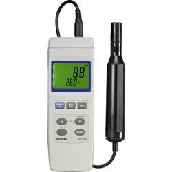 Merač kyslíka VOLTCRAFT DO-101 VC-8341620, 0 - 20 mg/l, vymeniteľná elektróda, s funkciou merania teploty