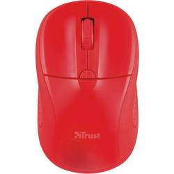 Optická Wi-Fi myš Trust Primo 20787, červená