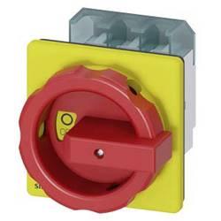 Odpínač Siemens 3LD25040TK53, 63 A, 690 V/AC červená, žlutá 3pólový 35 mm²
