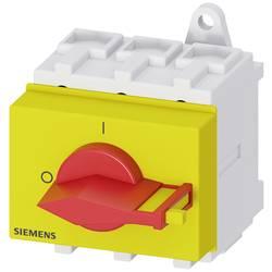 Odpínač Siemens 3LD25300TK13, 63 A, 690 V/AC červená, žlutá 3pólový 35 mm²