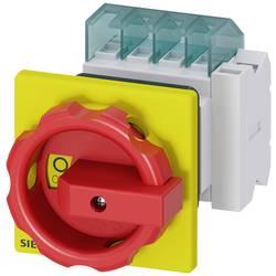Odpínač Siemens 3LD20541TP53, 16 A, 690 V/AC 1 spínací kontakt, 1 rozpínací kontakt červená, žlutá 3pólový 6 mm²