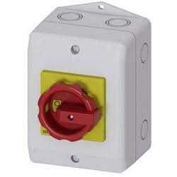 Odpínač Siemens 3LD20641GP53, 16 A, 690 V/AC 1 spínací kontakt, 1 rozpínací kontakt červená, žlutá 3pólový 6 mm²