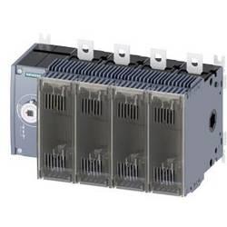Odpínač Siemens 3KF34254LF11, 250 A, 690 V/AC 8 spínacích kontaktů, 8 rozpínacích kontaktů 4pólový