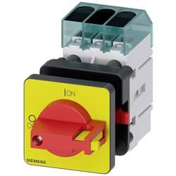 Odpínač Siemens 3LD34500TK13, 63 A, 690 V/AC červená, žlutá 3pólový 16 mm²