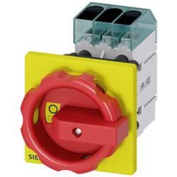Odpínač Siemens 3LD34540TK53, 63 A, 690 V/AC červená, žlutá 3pólový 16 mm²