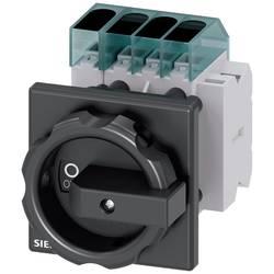 Odpínač Siemens 3LD34541TL51, 63 A, 690 V/AC 1 spínací kontakt, 1 rozpínací kontakt černá 4pólový 16 mm²