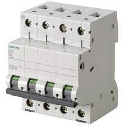 Elektrický jistič Siemens 5SL44068, 6 A, 400 V