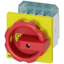 Odpínač Siemens 3LD20031TL53, 16 A, 690 V/AC červená, žlutá 4pólový 6 mm²