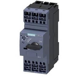 Výkonový vypínač Siemens 3RV2021-1FA20 Rozsah nastavení (proud): 3.5 - 5 A Spínací napětí (max.): 690 V/AC (š x v x h) 45 x 119 x 97 mm 1 ks