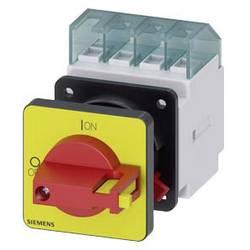 Odpínač Siemens 3LD20500TK13, 16 A, 690 V/AC červená, žlutá 3pólový 6 mm²
