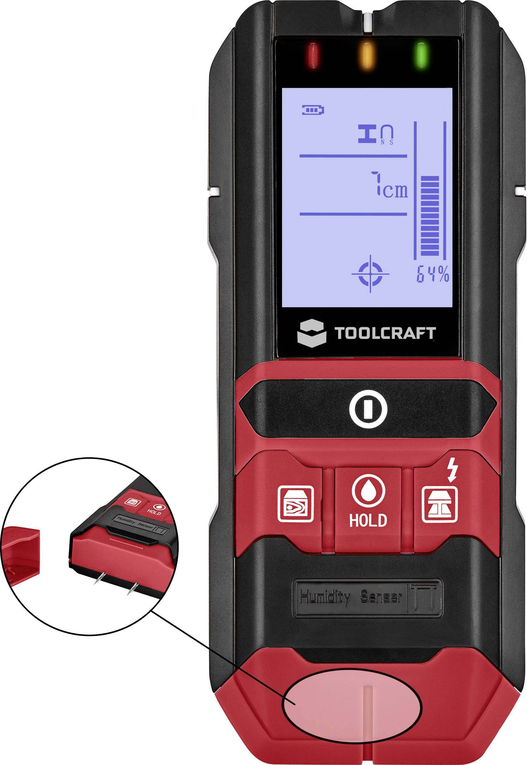 Detektor TOOLCRAFT TO-5137833