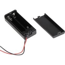 Batériový držák na 2x micro (AAA) Joy-it COM-BF2XAAA, (š x v x h) 26 x 15.5 x 62.5 mm