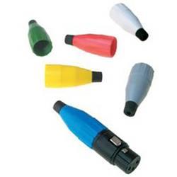 Kabelová průchodka Amphenol AC-NUT-BLU, modrá, 1 ks