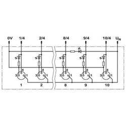 Aktivní box senzor/aktor Phoenix Contact SACB-10/3-L-M12-M8 1434853, 1 ks