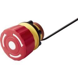 Nouzový vypínač TRU COMPONENTS TC-LAS1-A22Y-01TSB/L, 250 V/AC, 3 A, 1 rozpínací kontakt, IP65, 1 ks