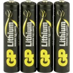 Mikrotužková baterie AAA lithiová GP Batteries Excellent FR03, 1.5 V, 4 ks