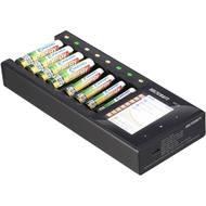Nabíječka akumulátorů VOLTCRAFT IPC-8 NiMH, NiCd, NiZn, Li-Ion, LiHV , LiFePO , AA, AAA, 14500, 10440