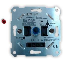 Stmívač pod omítku Shada Universaldimmer 3-150W mit Wechselschaltung 0190010, hliník
