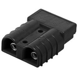 Konektor baterie vysokým proudem 50 A encitech 1130-0201-05, černá, 1 ks
